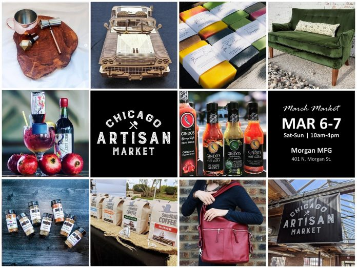Chicago Artisan Market - March 6-7, 2021 (Featured Image)